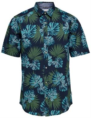 ONLY & SONS ONSTIMOTHY SS FLORAL SHIRT RE 22012326