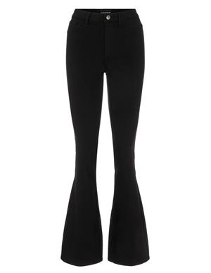 Pieces PCHIGHSKIN FLARED PANT BLC NOOS BC 17119933