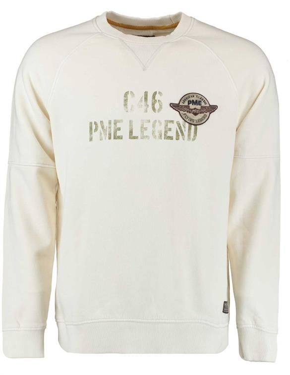 PME Legend Crewneck Washed terry PSW198446