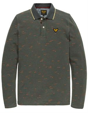 PME Legend Long sleeve polo cotton space piqu PPS205802