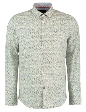 PME Legend Long Sleeve Shirt Poplin Print PSI198227