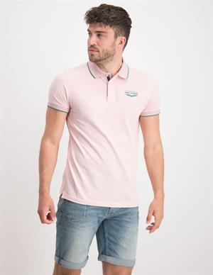 PME Legend Short sleeve polo two tone pique PPSS203862