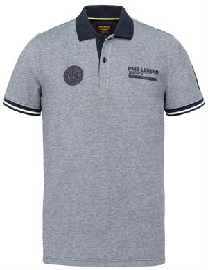 PME Legend Short sleeve polo two tone pique PPSS214873