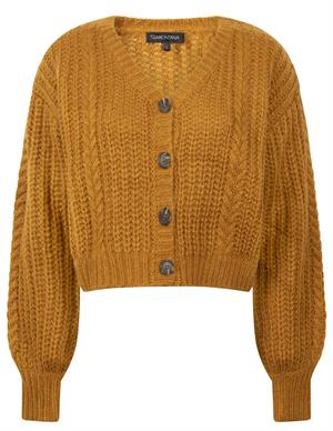 Tramontana Cardigan Short Mohair Cables Y01-02-701