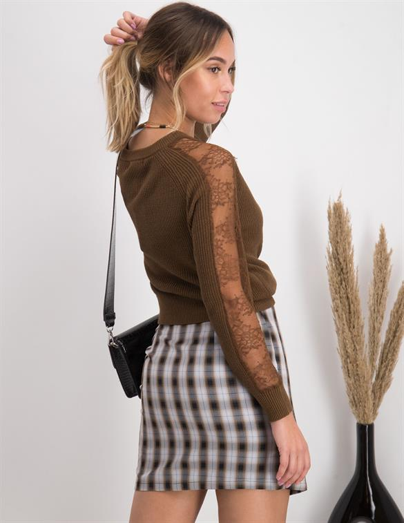 Tramontana Jumper with Lace Y06-96-601