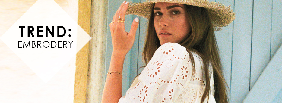 TREND: Embroidery