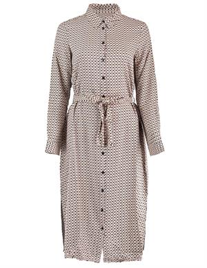 Vero moda VMCARMEN LS CALF SHIRT DRESS WVN GA 10234665