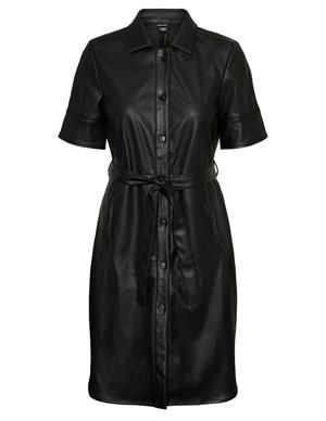 Vero moda VMGWEN SS PU SHIRT DRESS 10234410