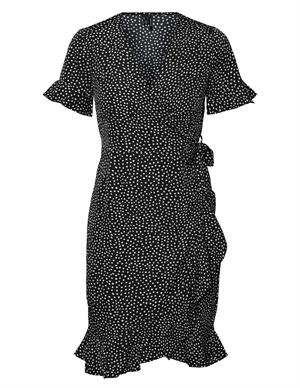 Vero moda VMHENNA 2/4 WRAP FRILL DRESS NOOS 10252951