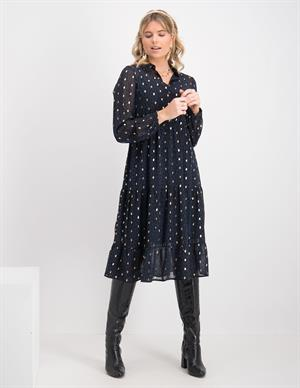 Vero moda VMPENNY L/S CALF DRESS WVN 10246715