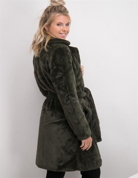 Vila VIBODA NEW FAUX FUR COAT/PB/SU 14057849