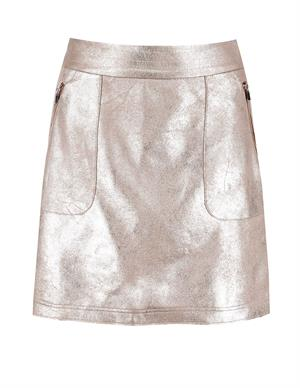 Vila VIMALLIES HW SHORT FOIL SKIRT 14059395