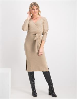 Vila VIMANY L/S MIDI DRESS/RX 14066129