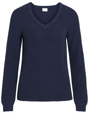 Vila VIMYNTANI KNIT POINTELLE L/S TOP-NO 14049922